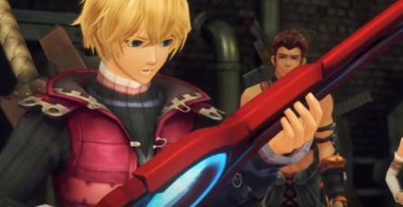 Xenoblade Chronicles: Definitive Edition - Tráiler Shulk, Reyn y Fiora | Nintendo Switch