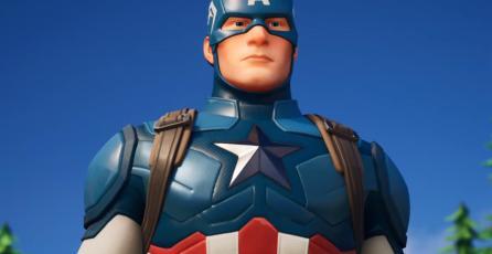Es oficial: el Capitán América llegó a <em>Fortnite</em>