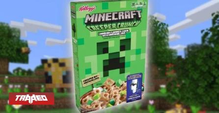Próximamente Minecraft tendrá su propio cereal para disfrutar en el desayuno