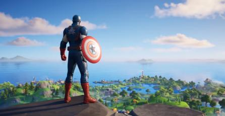 Fornite - Tráiler Capitán América