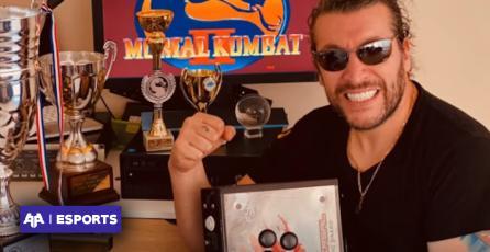 Leo Rey inicia su carrera como analista de Mortal Kombat en el CDF