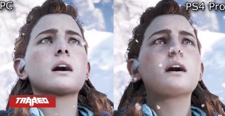 Vídeo compara resoluciones de Horizon: Zero Dawn en PC y PS4 Pro