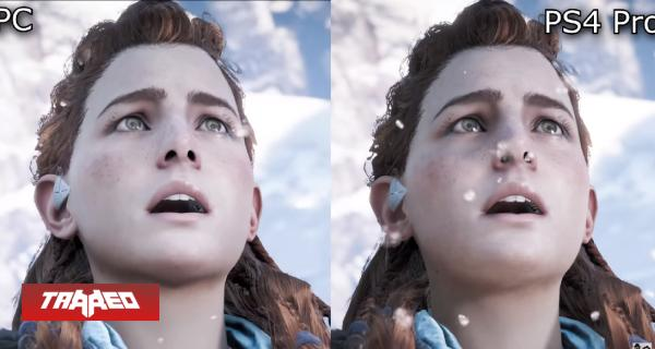 Vídeo compara resoluciones de Horizon: Zero Dawn en PC y PS4 Pro
