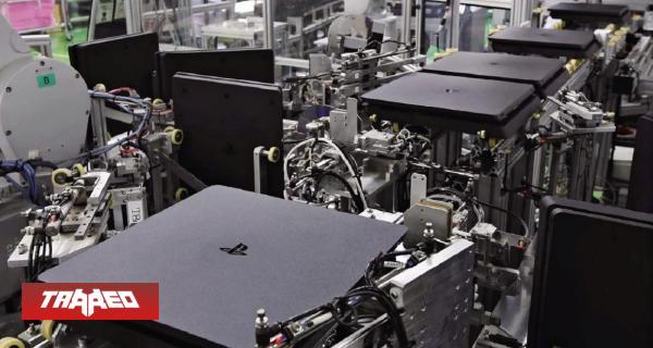 Fabrica totalmente robotizada de Sony ensambla una PS4 cada 30 segundos