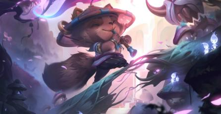 Este es el Splash Art de Spirit Blossom que trae League of Legends