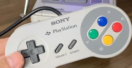 Fan se inspiró en el Nintendo PlayStation y fusionó un SNES con un PS