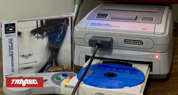 Jugador fusiona un Super Nintendo con una Playstation en un solo modelo