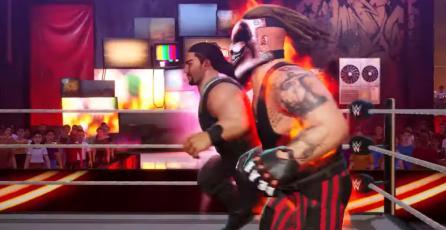 WWE 2K Battlegrounds - Tráiler Fecha de Lanzamiento