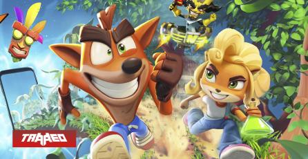 Así será Crash Bandicoot: On the Run en tu celular