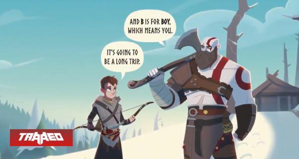 La historia de God of War será adaptada a libro infantil