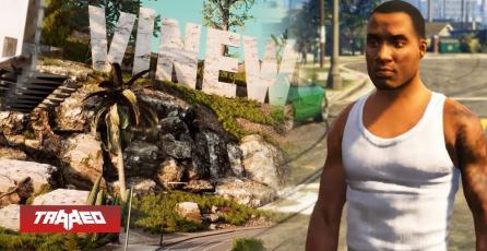 """Amigos de Argentina, Chile y Colombia se unen para crear """"remake"""" de GTA: San Andreas en Unreal Engine 4"""