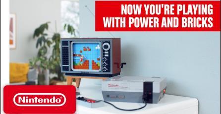 LEGO Nintendo NES Anuncio