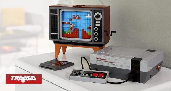 ES OFICIAL: LEGO revela el set de la NES con Super Mario Bros.