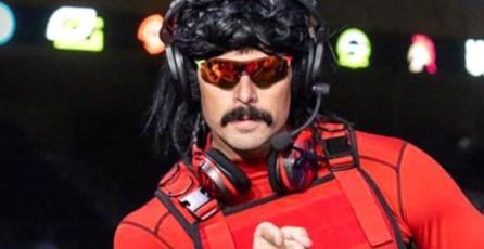 Dr. Disrespect sigue banneado de Twitch, pero parece que no se mudará a YouTube