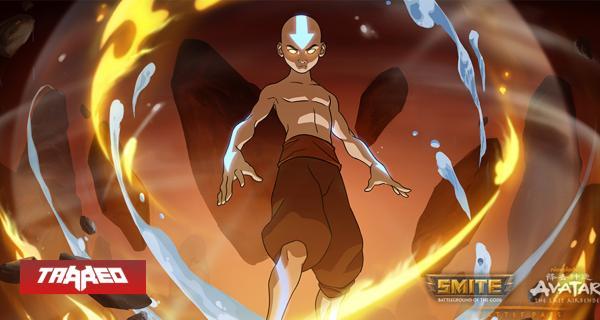 Aang en Smite: Ya está disponible el pase de batalla de Avatar