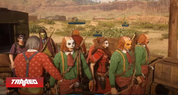 Jugadores de Red Dead Online protestan vestidos de payaso por falta de actualizaciones