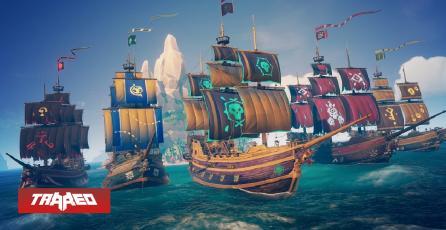 Sea of Thieves ha logrado llegar a 15 millones de jugadores con su aparición en Steam