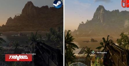 Vídeo compara las versiones de Crysis Remastered en Nintendo Switch v/s PS3 y PC