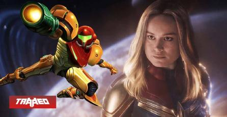 Capitana Marvel quiere interpretar a Samus en una película de Metroid