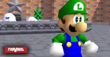"""Se confirma el mito """"Luigi is real"""": archivos revelan que está en el código de Super Mario 64"""