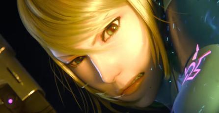 Ilustración muestra como se vería Brie Larson como Samus en filme de <em>Metroid</em>