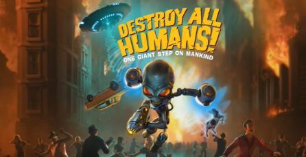 "Destroy All Humans! - Tráiler de Avance ""Saucer Weapons"""