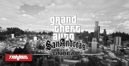 """Trailer de GTA San Andreas en Unreal Engine 4 fue """"dado de baja"""" por dueños de Rockstar"""