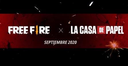 <em>Free Fire</em> x <em>La Casa de Papel </em> - Teaser oficial