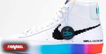 Las zapatillas que hacen un homenaje a los gamers