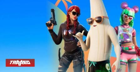Banana sin cascara es una de las nuevas tres skins de Fortnite