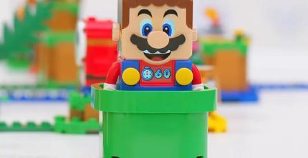 Nintendo probó miles de veces los productos de LEGO <em>Super Mario</em> para autorizarlos
