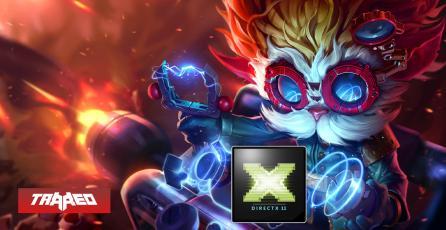 Llega DirectX 11 a League of Legends en la versión 10.16