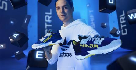 Así de geniales son los nuevos tenis del streamer Ninja y Adidas