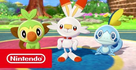 Pokémon Espada y Pokémon Escudo trailer