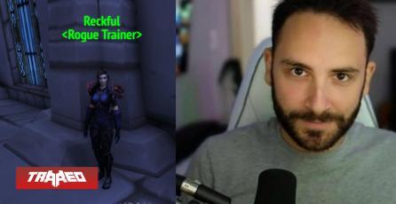 Blizzard rinde tributo al desaparecido Reckful con su propio NPC en World of Warcraft