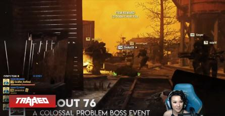 F de Fallout 76: Les apareció buen error en pleno streaming del QuakeCon, pero improviso