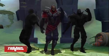 Bug of Legends: Al morir con Zed bailando, tendrás visión de esa zona hasta que reaparezcas