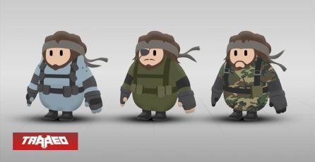 Konami y otras empresas quieren mostrarse en skins de Fall Guys