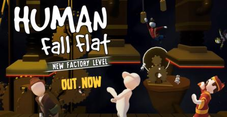 "Human: Fall Flat - Tráiler DLC ""Factory Level"""