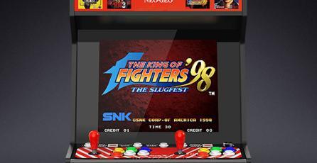 Podrás revivir la gloria de la época Arcade con este gabinete de SNK
