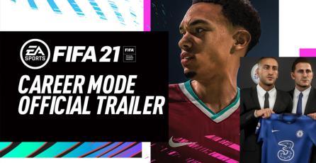 <em>FIFA 21</em> - trailer del modo carrera