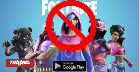 No fue solo en Apple: Fortnite también desaparece de la Google Play Store de Android