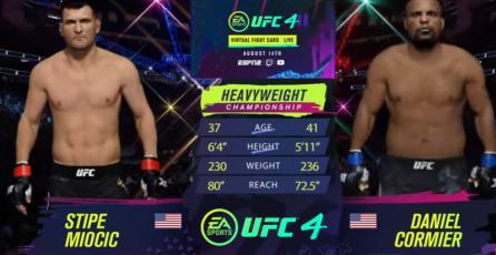 EA SPORTS UFC 4 - Tráiler de Simulación UFC 252: Daniel Cormier vs Stipe Miocic