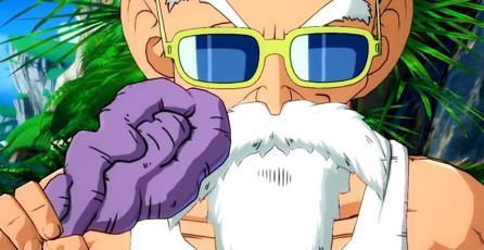 <em>Dragon Ball FighterZ</em>: el Maestro Roshi será el próximo peleador del juego de luchas