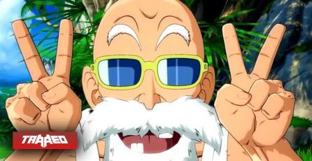 Maestro Roshi hará su entrada triunfal a Dragon Ball FighterZ en Septiembre