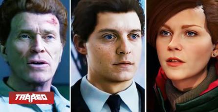 Recrean Marvel's Spider-Man con rostros de actores de la trilogía original
