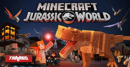 Llegan los dinosaurios de Jurassic World a Minecraft