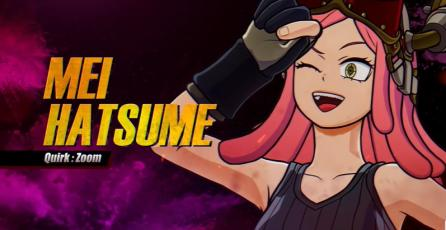 "MY HERO ONE'S JUSTICE 2 – Tráiler DLC ""Mei Hatsume"""