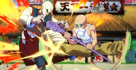Capturas del Maestro Roshi en <em>Dragon Ball FighterZ</em>