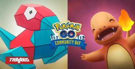 Porygon y Charmander los próximos Pokémon del Día de la Comunidad de septiembre y octubre en Pokémon GO